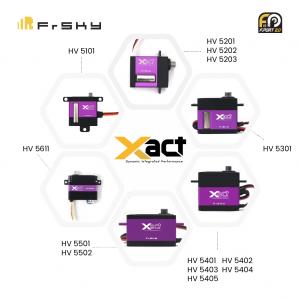 FrSky Xact Series Servos Release!