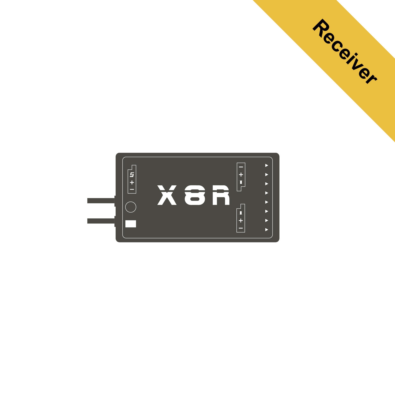 X8R - FrSky - Lets you set the limits